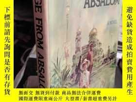 二手書博民逛書店MESSAGE罕見FROM ABSALOM(精裝帶封皮)Y109