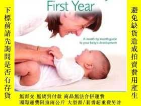 二手書博民逛書店The罕見Contented Baby s First Year