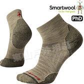 Smartwool PhD OD LT Mini SW001066-241棕 男戶外輕量級減震低筒襪 美麗諾羊毛襪/機能排汗襪/健行襪雪襪