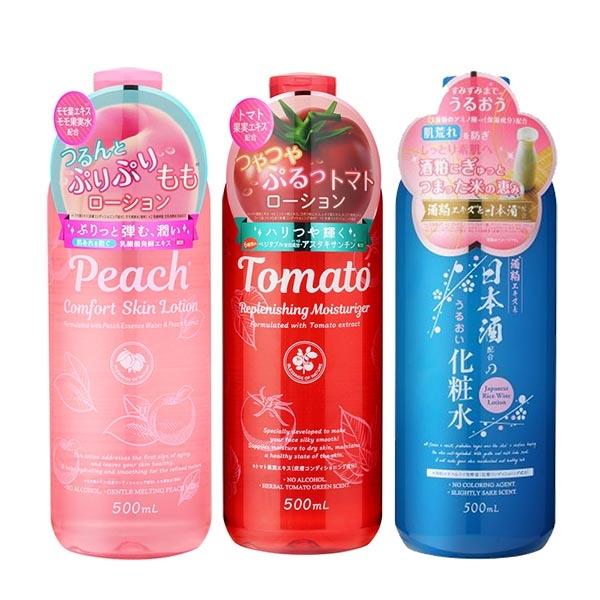 PLATINUM LABEL 鉑潤肌 番茄/日本酒/水蜜桃 化妝水500ml
