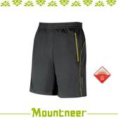 【Mountneer 山林 中性透氣排汗針織短褲《深灰》】31S55-11/抗UV/UPF50+/吸濕排汗/透氣/休閒★滿額送