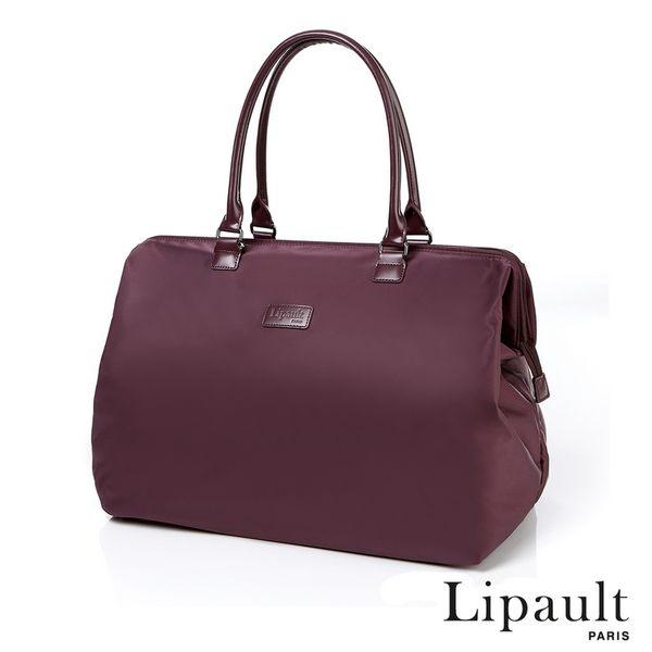 法國時尚Lipault 簡約時尚中型旅行袋M(秋彩紋)