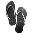 (AY) hotmarzz 黑瑪 女士 人字拖 拖鞋 夾腳拖 防滑 平底 沙灘鞋 HM0779-01 [陽光樂活]