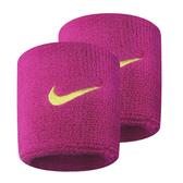 Nike Swoohs [NNN04633OS] 運動 打球 健身 單色 護腕 腕帶 吸濕 排汗 乾爽 彈性 桃紅 黃