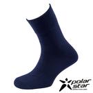 PolarStar 台灣製造 羊毛保暖紳士襪『黑藍』P16618 MIT|保暖襪|羊毛襪|商務襪