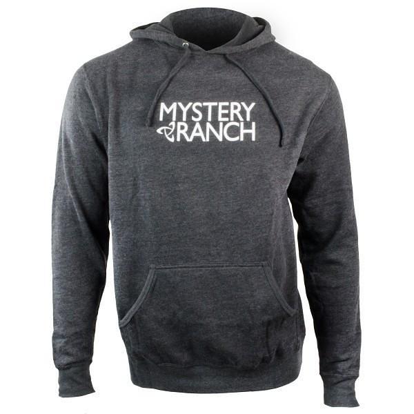 Mystery Ranch 神秘農場 Ex Logo Hoody 混紡棉質長袖刷毛帽T 炭灰