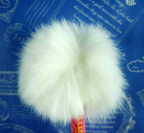 【震撼精品百貨】Hello Kitty 凱蒂貓~KITTY絨毛原子筆-藍色