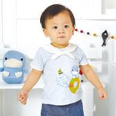 【奇買親子購物網】酷咕鴨KU.KU.夏日出帆海洋套裝禮盒(藍)