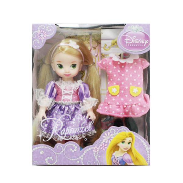 迪士尼4吋迷你長髮公主
