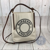 BRAND楓月 BURBERRY 帆布水桶包  肩背包 側背包