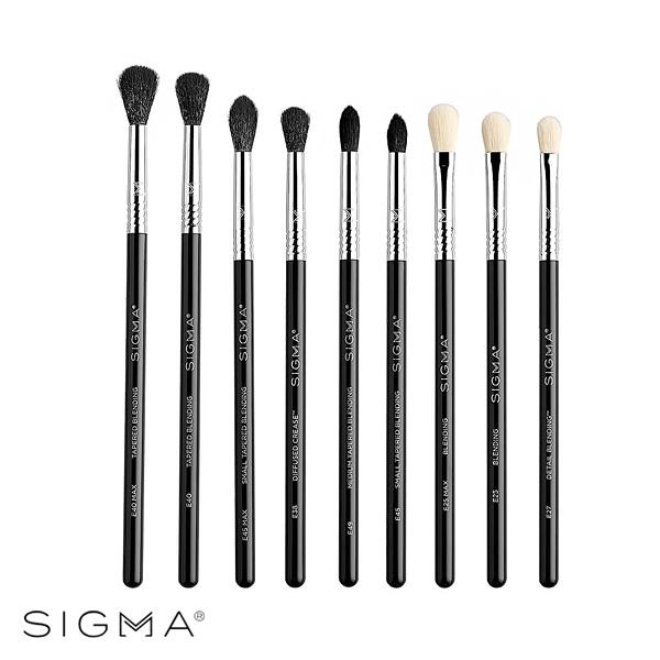 Sigma 絕美輕奢眼妝刷具九件組 Deluxe Blending Brush Set - WBK SHOP