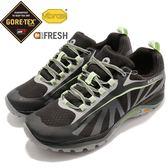 Merrell 戶外鞋 Siren Edge Gore-tex 黑 綠 防水 透氣 越野 休閒鞋 運動鞋 女鞋【PUMP306】 ML37186