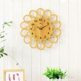 鐘錶掛鐘客廳藝術創意現代簡約家用個性時尚裝飾臥室靜音石英時鐘 完美情人精品館YXS