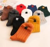 襪子女秋冬中筒襪加厚純棉韓國堆堆襪日繫長筒女士棉襪 萬寶屋