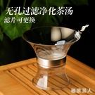 1000目高密度玻璃茶漏無孔創意茶濾泡茶器茶葉過濾網茶具配件茶隔 LJ7893【極致男人】