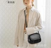 迷你小包包女2020新款時尚復古簡約百搭小圓包單肩斜挎軟皮女包『蜜桃時尚』