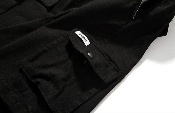 找到自己品牌 時尚潮流 男 工裝 多口袋 短褲 戶外休閒褲 運動短褲