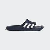 Adidas Aqualette [CG3537] 男女 運動 涼鞋 拖鞋 休閒 舒適 輕量 愛迪達 藍