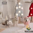 小羊圣誕樹掛件 創意羊毛氈圣誕裝飾用品桌面布置小擺件配件【創世紀生活館】