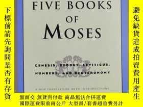 二手書博民逛書店THE罕見FIVE BOOKS OF MOSES 摩西的五本書(英文原版)Y150176 Robert Alt
