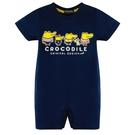 『小鱷魚童裝』Q版鱷魚家族LOGO連身裝(0號~01號)553530