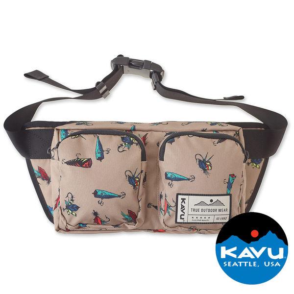 【KAVU】 Pacer Pack方形腰包 路亞Top Water |旅遊|戶外|肩背包|手提包|側背包 K9047