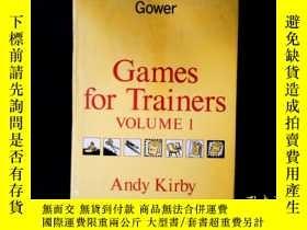 二手書博民逛書店Games罕見for TrainersY331092 Kirby