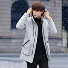棉衣夾克外套加絨 中長款流男生外套 連帽男士外套 大碼韓版外套羽絨外套 潮流棉服冬季上衣