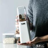簡約北歐風有蓋筷子筒瀝水架創意裝筷子置物架簡易家用筷子盒單個WD 雙十一全館免運