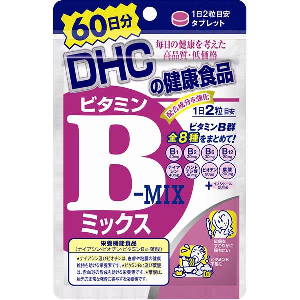 DHC維他命B群 60日份 日本公司貨 另售 芝麻明EX 明治朝日膠原蛋白 夜間新谷夜遲酵素 canmake