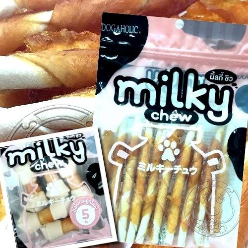 【 培菓平價寵物網】Milky Chew》軟Q雞肉牛奶嚼嚼骨/包