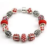 手鍊 串珠-琉璃飾品情人節生日禮物時尚熱銷飾品72l127【時尚巴黎】