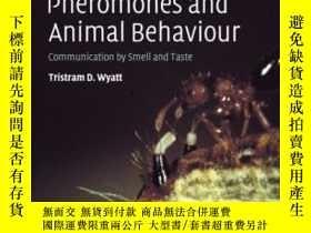 二手書博民逛書店Pheromones罕見And Animal Behaviour
