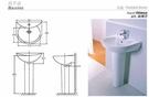 【麗室衛浴】英國陶瓷-IMPERIAL品牌 130561 尺寸56*46cm 單孔  (現貨供應)