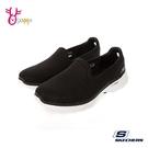Skechers懶人鞋 女鞋 GOWALK 6 寬楦款 走路鞋 健走鞋 運動鞋 直接套 記憶鞋墊 V8277#黑色