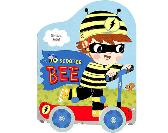 Scooter Bee 蜜蜂男孩出任務 輪子轉轉硬頁書