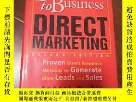 二手書博民逛書店BUSINESS罕見TO BUSINESS DIRECT MAR