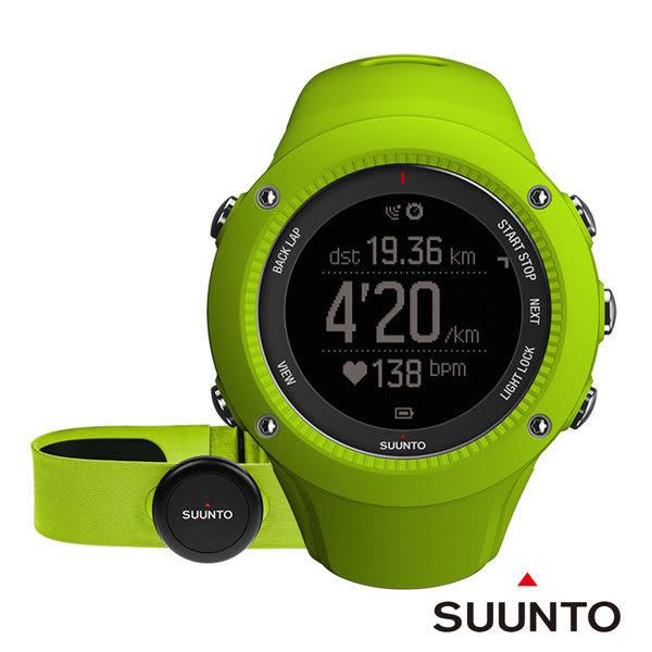 SUUNTO Ambit3 Run HR GPS錶-萊姆色【屈臣氏】