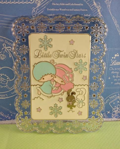 【震撼精品百貨】Little Twin Stars KiKi&LaLa 雙子星小天使~鏡子_長方型_造型