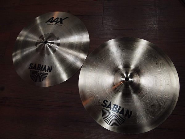 凱傑樂器 年底特惠出清 SABIAN 14吋 AAX STAGE HIT HATS 銅鈸