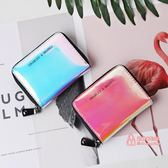 證件包/卡包 卡包女式簡約可愛小巧多卡位證件位大容量小ck零錢包一體包 4色