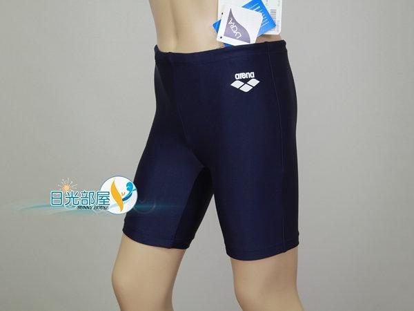*日光部屋* arena (公司貨)/ A187NJ-NVY 馬褲型/男童泳褲
