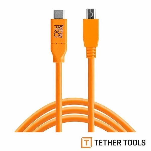 【南紡購物中心】Tether Tools CUC2415-ORG TETHER Pro 傳輸線