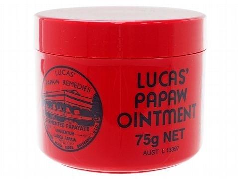 澳洲 Lucas Papaw 木瓜霜(75g)【小三美日】護唇膏/護手霜/屁屁霜
