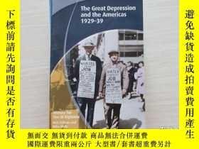 二手書博民逛書店the罕見great depression and the am