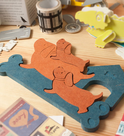 幸福森林【旺旺來】幼兒益智玩具-幼兒拼圖