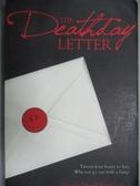 【書寶二手書T3/原文小說_OPQ】The Deathday Letter_Hutchinson, Shaun Davi