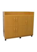 【環保傢俱】塑鋼碗盤櫃,茶水櫃.置物櫃.廚房櫃 (整台可水洗)261-04