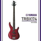 【非凡樂器】YAMAHA TRBX174/電貝斯套組/公司貨保固/紅色