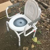 加固可調老人坐便椅老年人孕婦坐便器坐廁椅移動馬桶增高器方便椅YXS      韓小姐的衣櫥